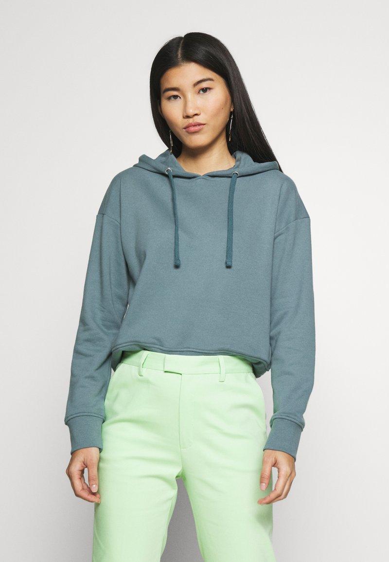CALANDO - LOOSE FIT HOODIE  - Bluza z kapturem - goblinblue