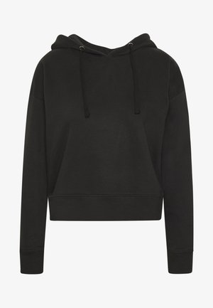 LOOSE FIT HOODIE  - Jersey con capucha - black