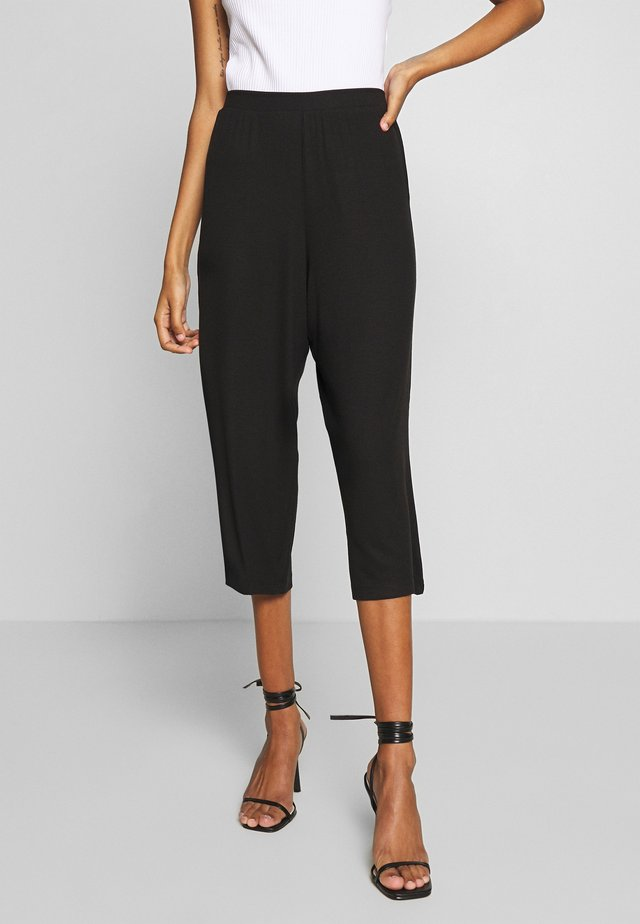 THE COMFY CULOTTE - Trousers - black