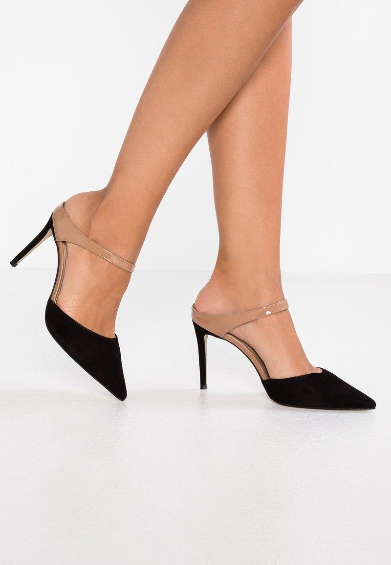 Carvela - AGNES - Heeled mules - black