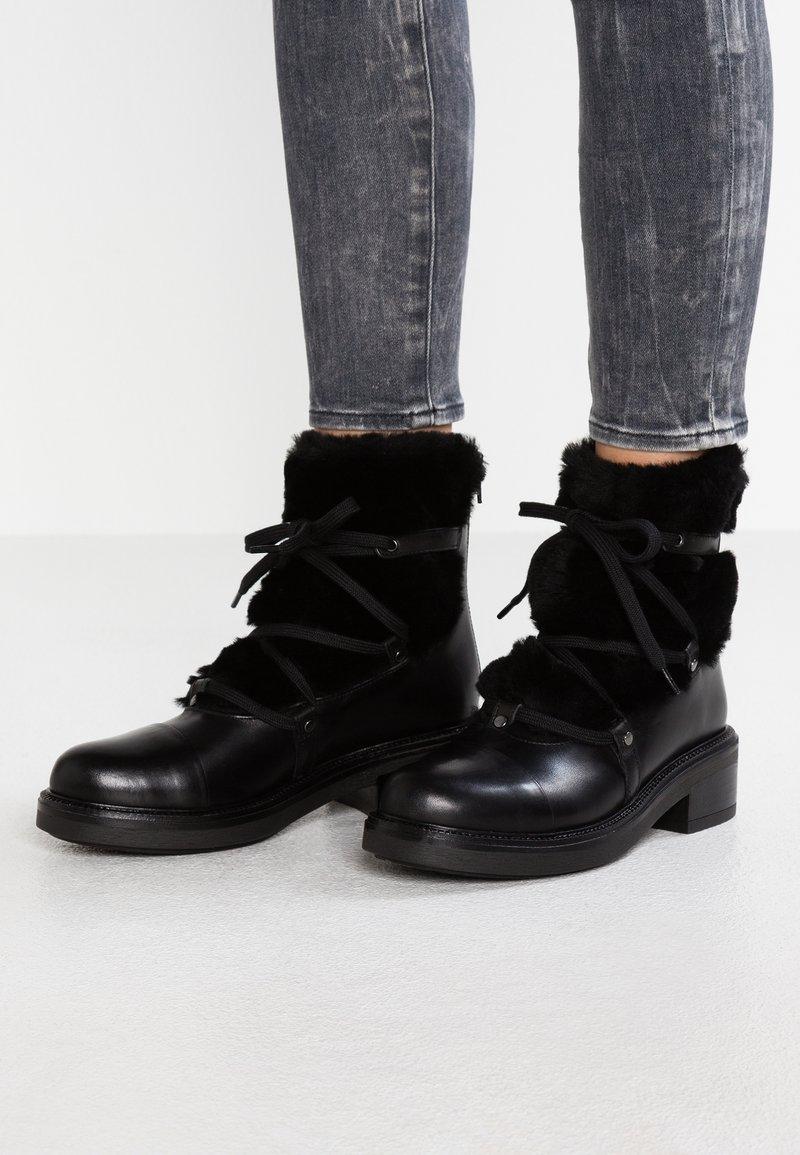 Carvela - SHARP - Lace-up ankle boots - black