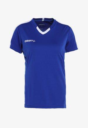 PROGRESS CONTRAST  - Camiseta estampada - cobalt/white