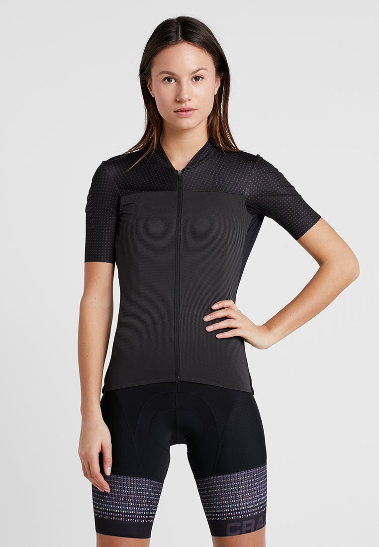 Craft - HALE GLOW - T-Shirt print - black