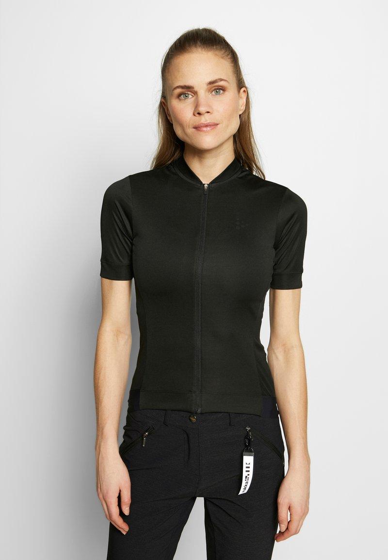 Craft - ESSENCE - T-shirt - bas - black
