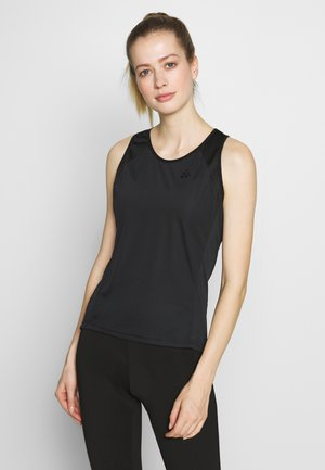 SUMMIT SINGLET - Toppe - black