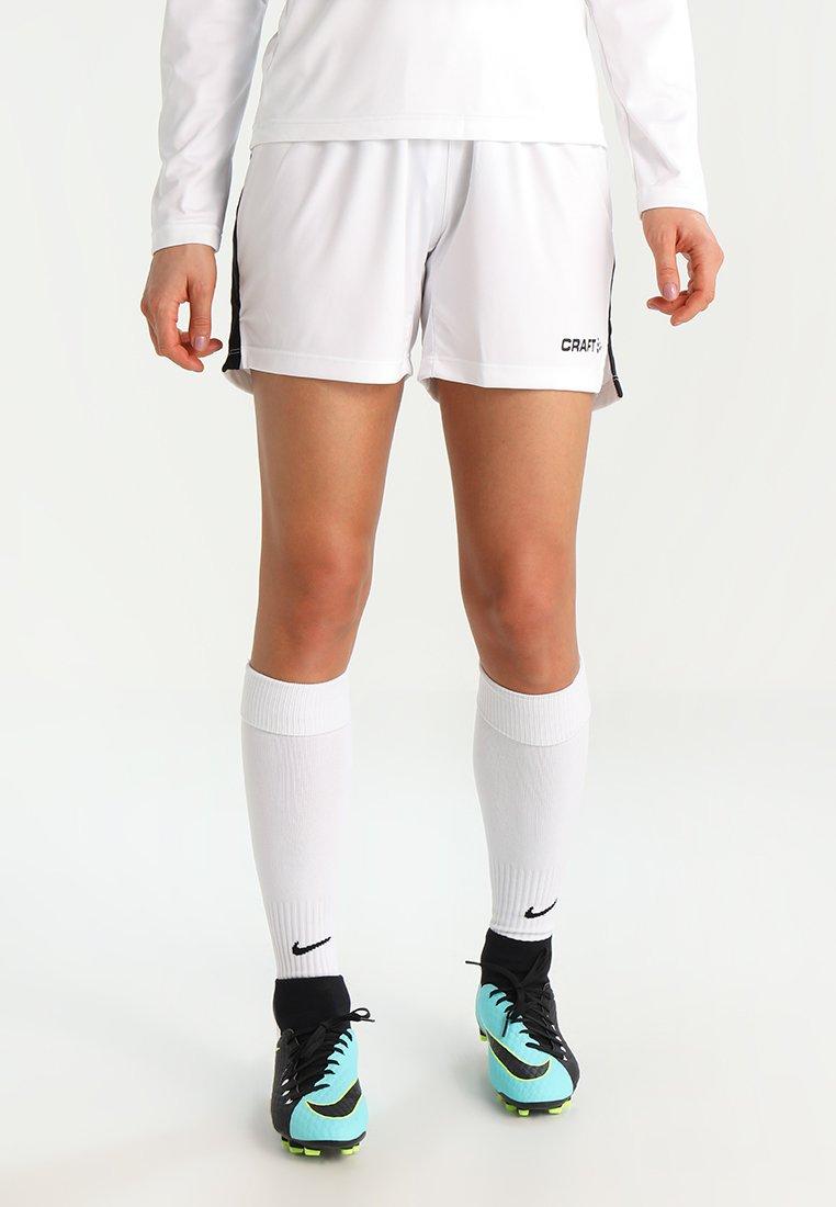 Craft - PROGRESS SHORT CONTRAST - Teamwear - white/black