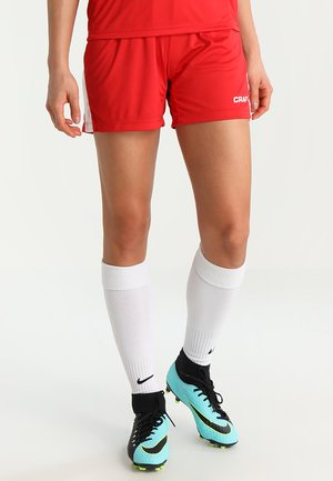 PROGRESS SHORT CONTRAST - Sportswear - bright red/white