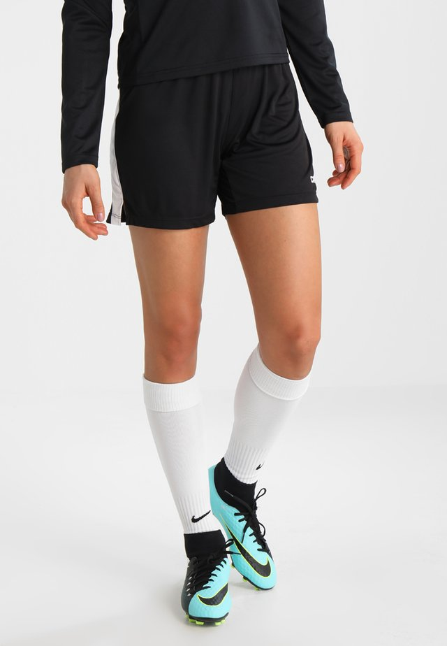 PROGRESS SHORT CONTRAST - Týmové oblečení - black/white
