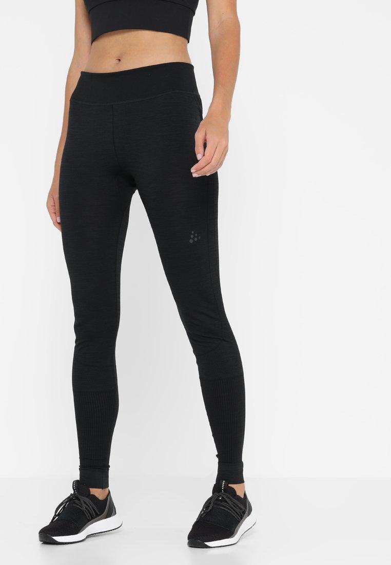 Craft - COMFORT PANTS - Medias - black