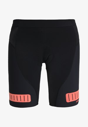 HALE GLOW SHORTS - Legginsy - black/boost