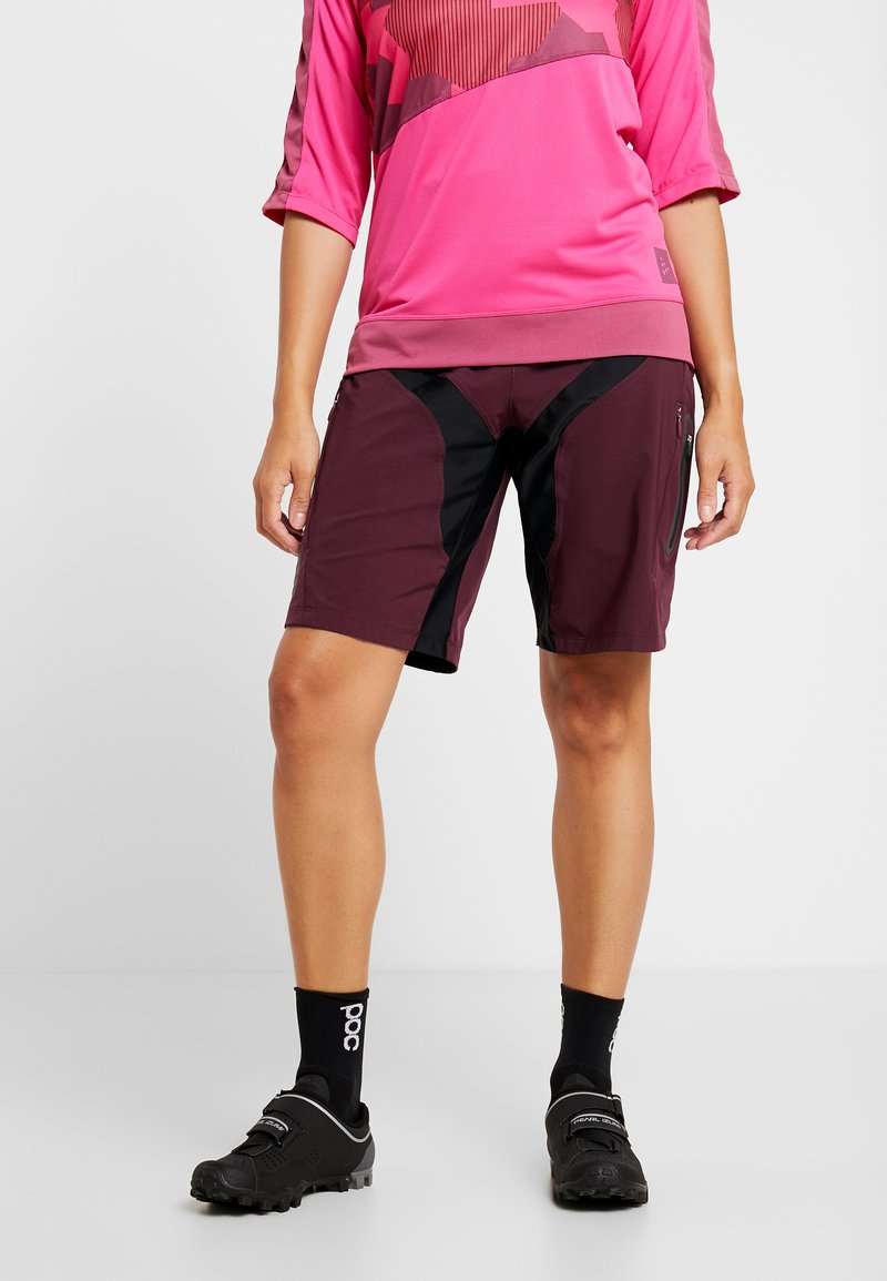 Craft - HALE SHORTS - kurze Sporthose - hickory black