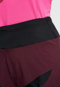 Craft - HALE SHORTS - kurze Sporthose - hickory black - 4