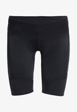 ESSENCE SHORTS - Leggings - black
