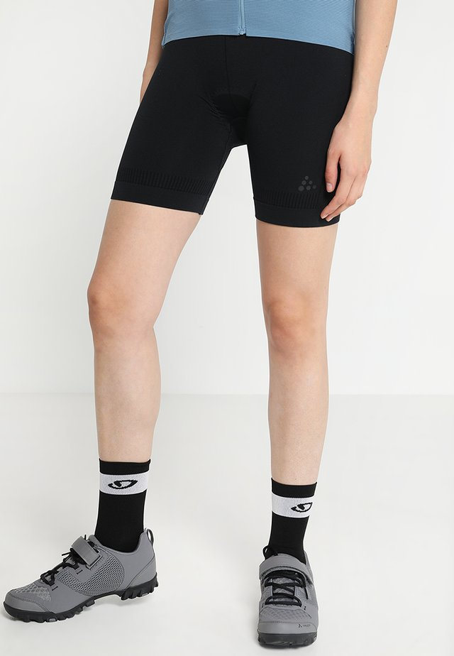BIKE BOXER  - Tights - black