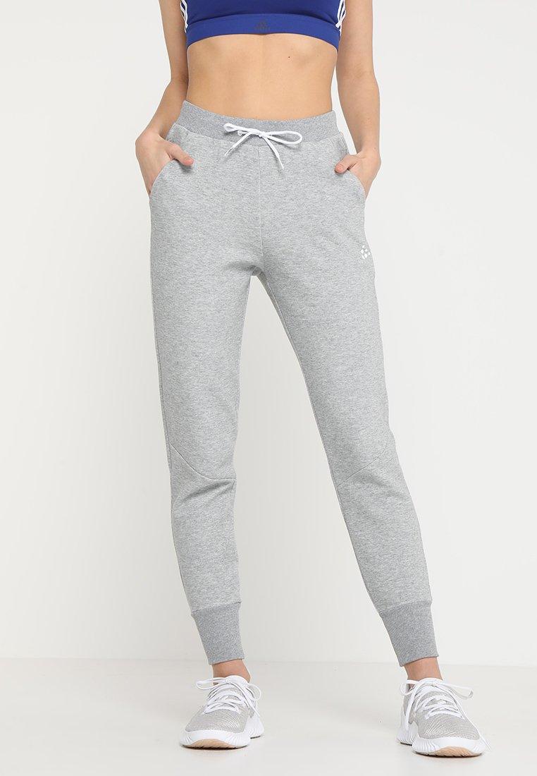 Craft - DISTRICT CROTCH PANTS - Jogginghose - grey