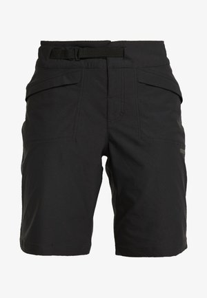 SUMMIT SHORTS WITH PAD - Korte sportsbukser - black