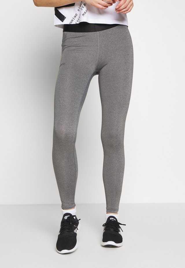 CORE ESSENCE - Legging - grey melange