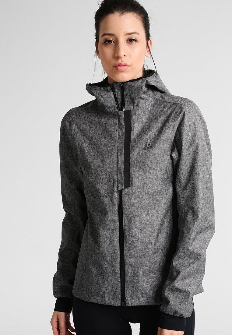 Craft - RIDE  - Hardshelljacke - dark grey melange/black