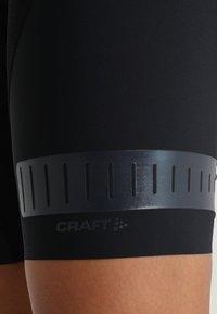 Craft - HALE GLOW BIB SHORTS - Tights - black - 5