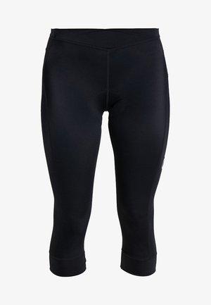 ESSENCE BIB KNICKERS - 3/4 sports trousers - black