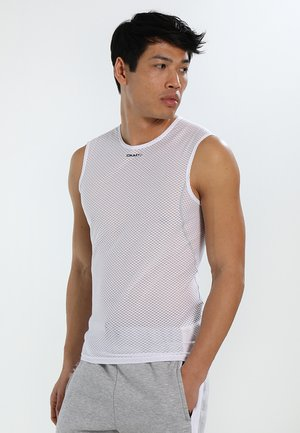 COOL SUPERLIGHT SLEVELESS - Top - white