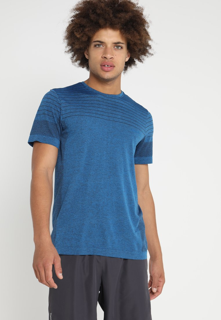 Craft - COOL COMFORT - Basic T-shirt - haven melange