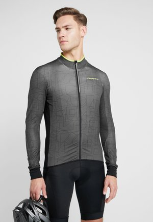 REEL THERMAL - Langarmshirt - asphalt black