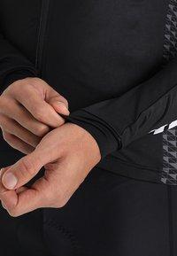 Craft - ROUTE - Langarmshirt - black/white - 4