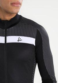 Craft - ROUTE - Langarmshirt - black/white - 3
