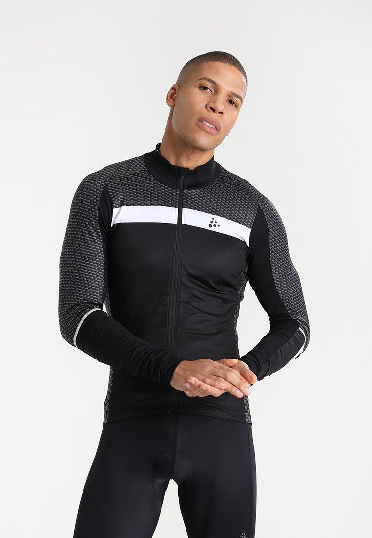 Craft - ROUTE - Langarmshirt - black/white