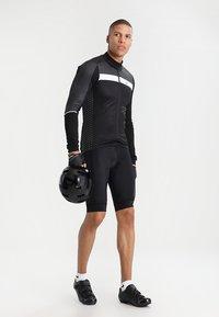 Craft - ROUTE - Langarmshirt - black/white - 1
