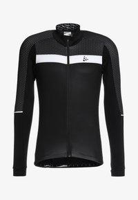 Craft - ROUTE - Langarmshirt - black/white - 8
