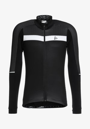 ROUTE - Langarmshirt - black/white
