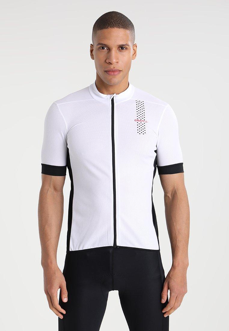 Craft - RISE  - Print T-shirt - white/black