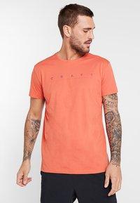 Craft - DEFT 2.0 TEE - T-shirt imprimé - pepper - 0