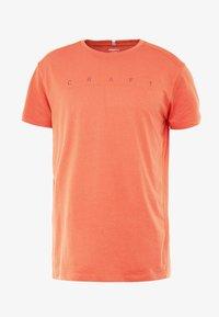 Craft - DEFT 2.0 TEE - Camiseta estampada - pepper - 3