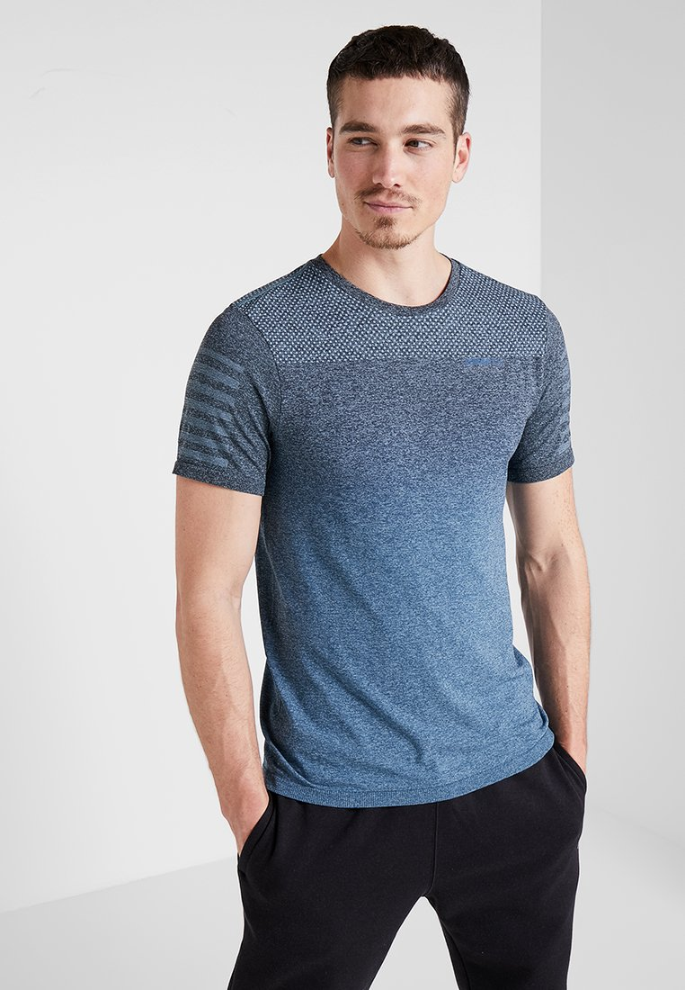 Craft - CORE DIP TEE - T-Shirt print - fjord