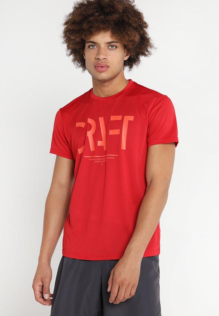 Craft - EAZE TEE  - T-shirt print - canyon