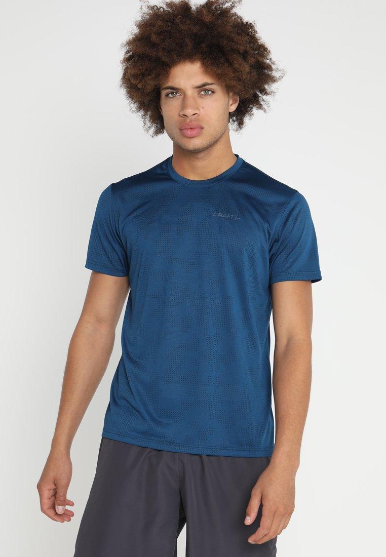 Craft - EAZE TEE - T-shirt med print - nox