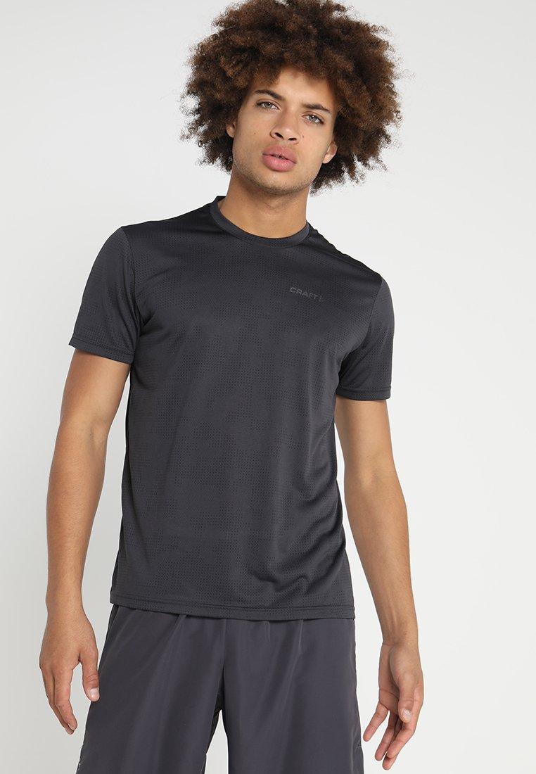 Craft - EAZE TEE - T-shirt med print - crest