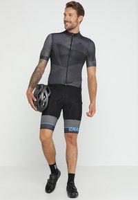 Craft - HALE GRAPHIC  - T-Shirt print - black - 1