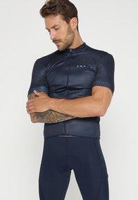 Craft - BOLD GRAPHIC - T-Shirt print - blue - 0