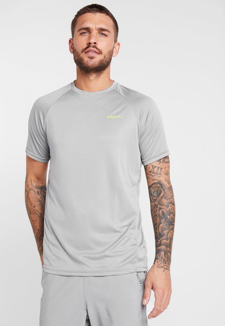 Craft - EAZE TRAIN TEE - T-shirt basic - monument