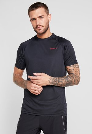 EAZE TRAIN TEE - T-shirt basic - black