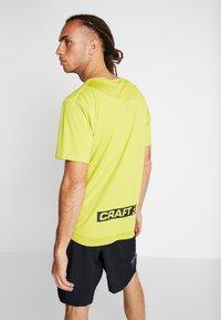 Craft - CHARGE TEE - T-Shirt print - mustard yellow - 2