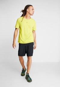 Craft - CHARGE TEE - T-Shirt print - mustard yellow - 1