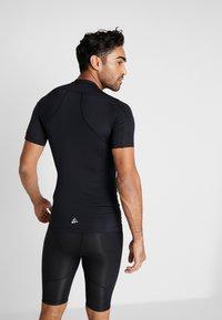 Craft - PRO CONTROL COMPRESSION TEE - T-Shirt print - black - 2