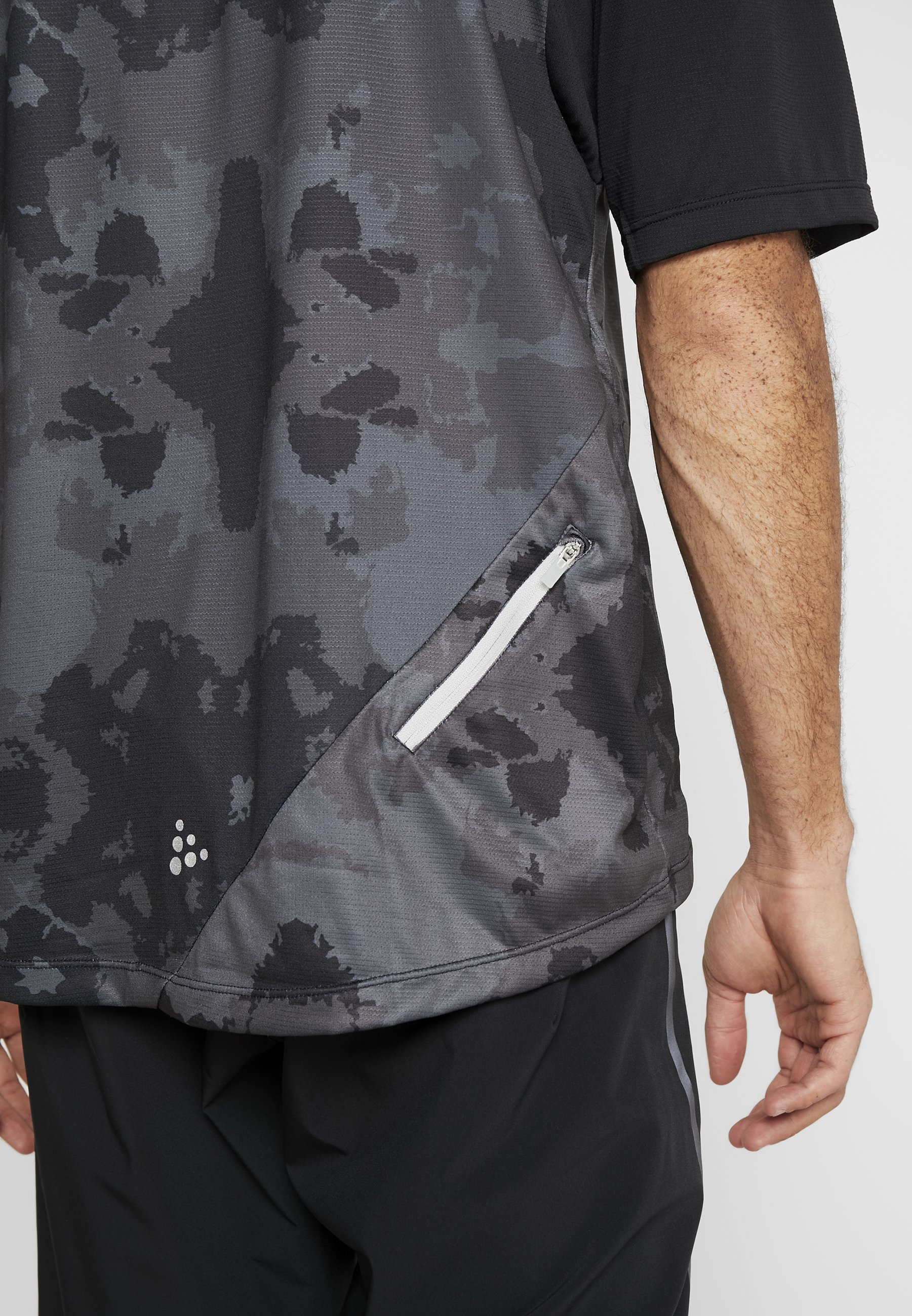 Craft Hale - T-shirt Con Stampa Black B9INkgH