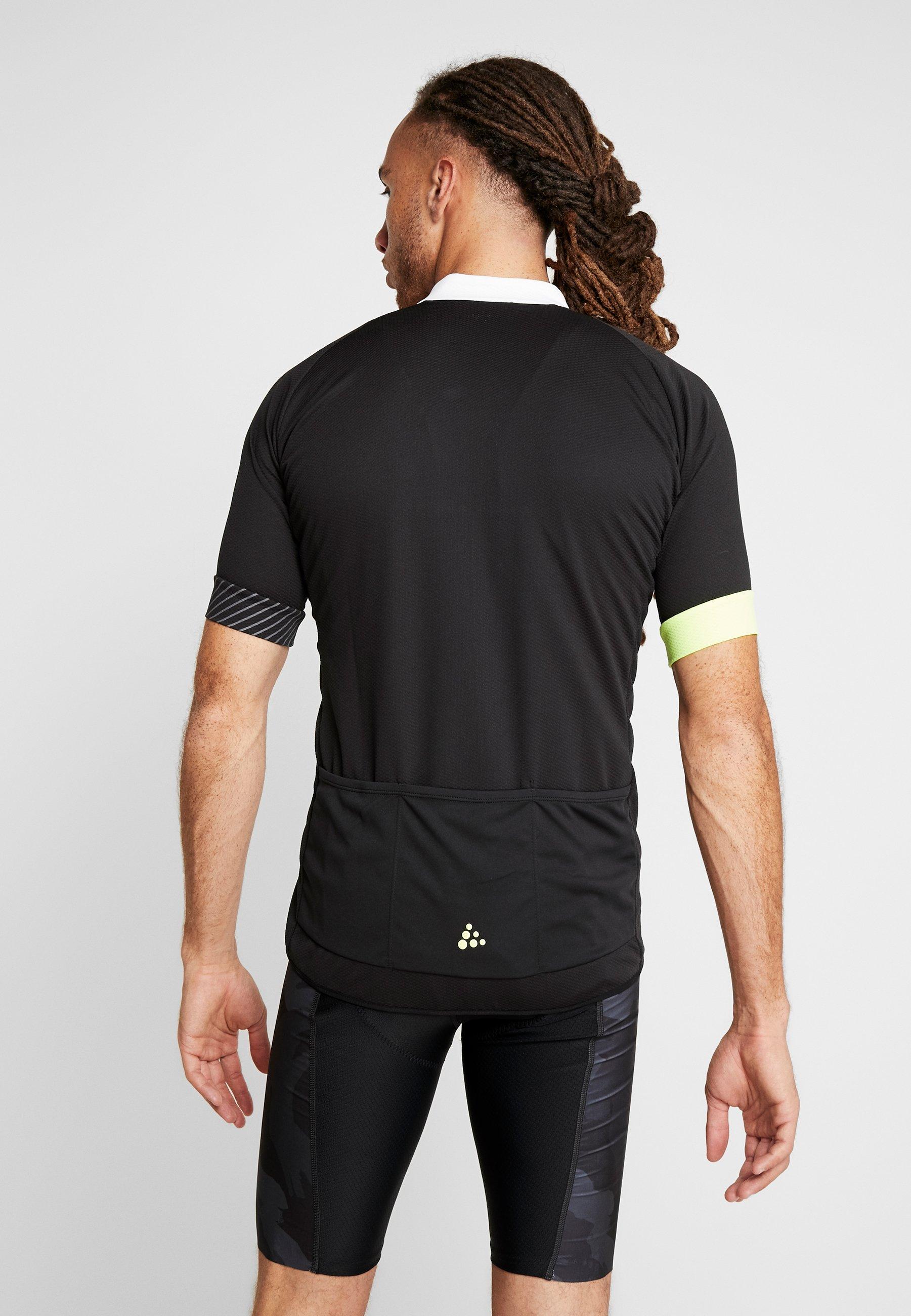 Craft ADOPT - T-shirt z nadrukiem - black/snap