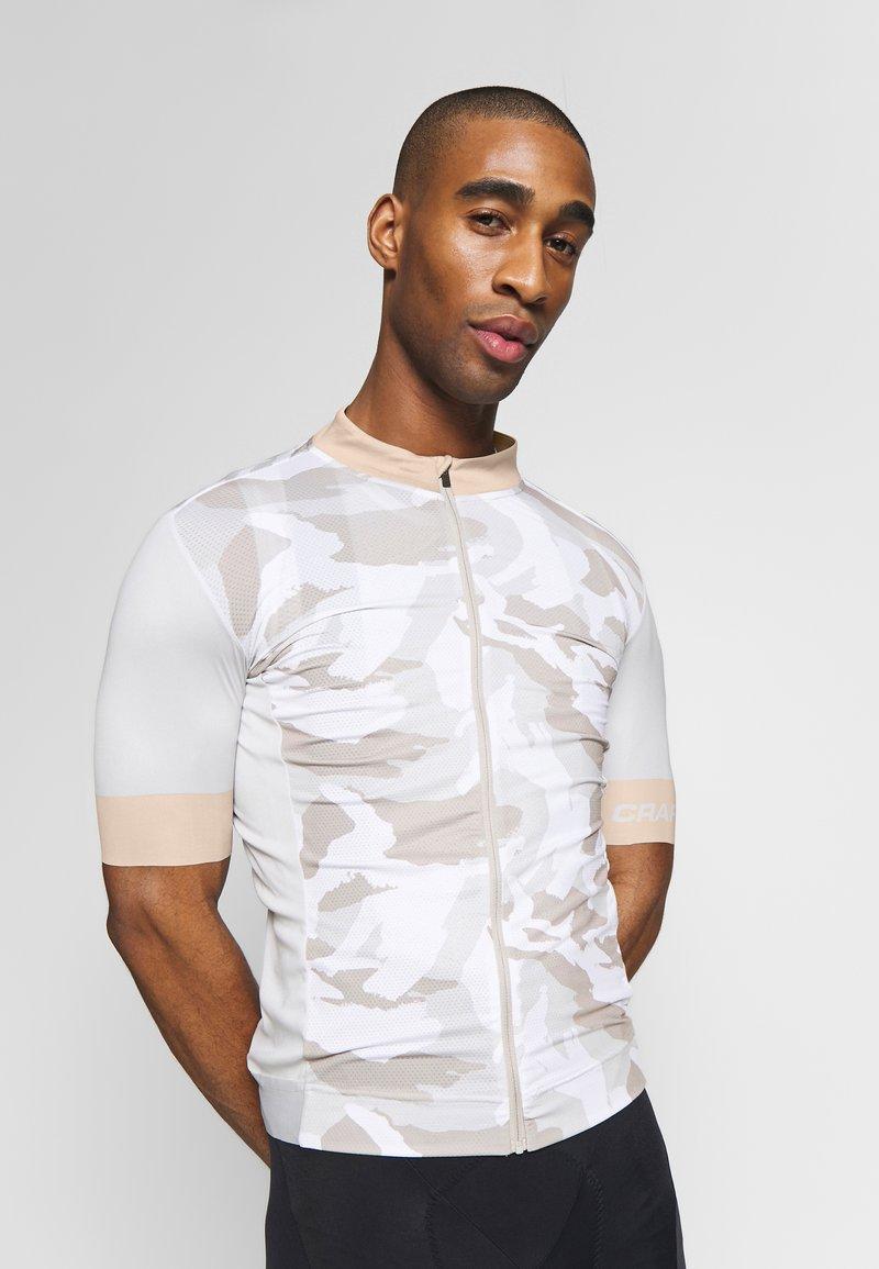 Craft - GRAPHIC TRAINING - T-Shirt print - ash multi